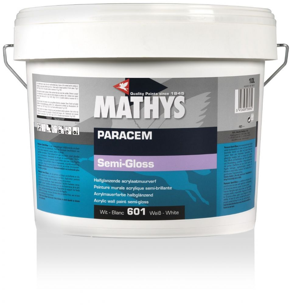 Mathys Paracem Semi-Gloss Custom Mixed Colours